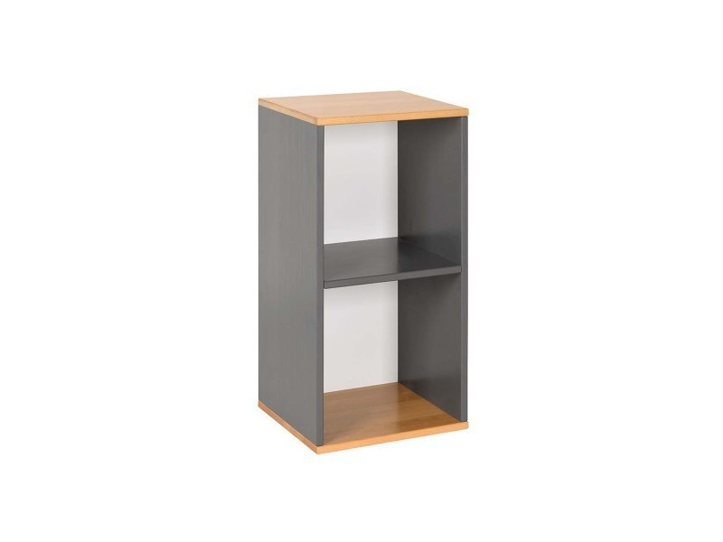 meuble de rangement 2 cases vente de ma chambre d 39 enfant conforama. Black Bedroom Furniture Sets. Home Design Ideas