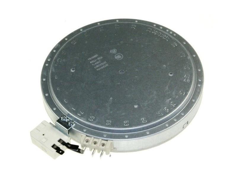 Foyer radiant (diam 200) 1700/750w plaque de cuisson brandt 72x0823