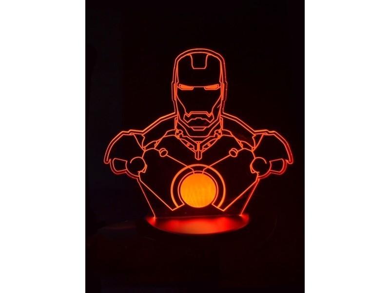 Conforama Vente Man 3d Lampe Iron De Led jSqULMpGzV