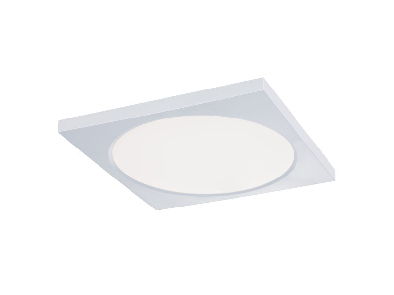 Panel carré led encastrable prenium en plastique blanc