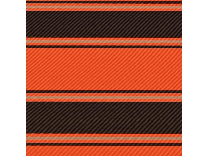 Vidaxl auvent rétractable avec led 400x150 cm orange et marron 145934