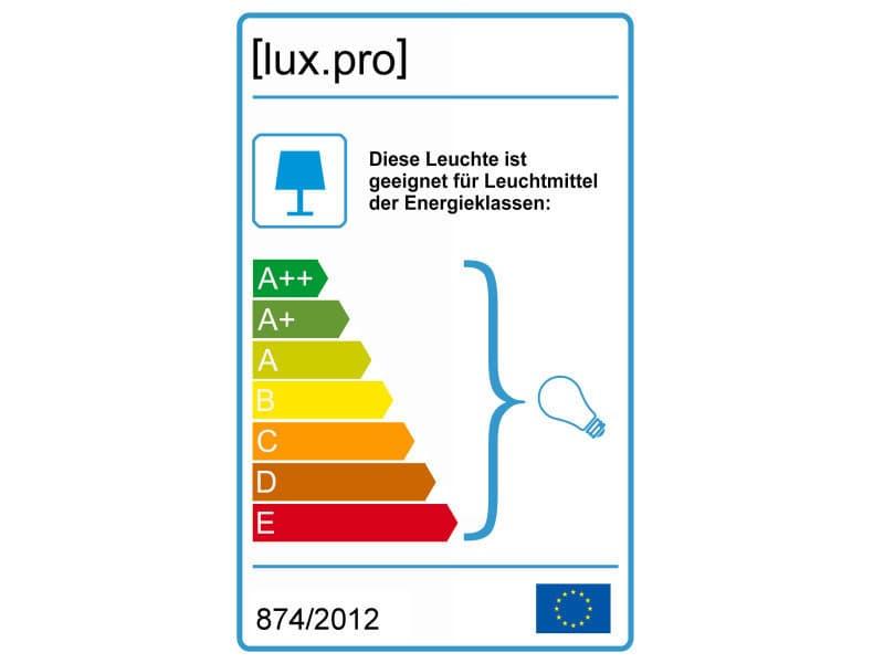 lux.pro] suspension luminaire suspendue plafonnier noir et