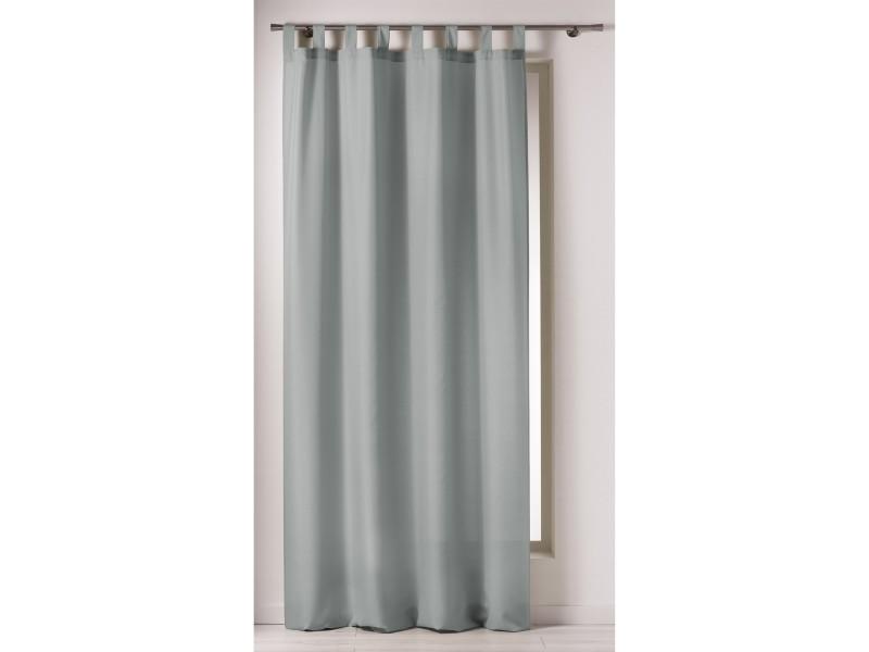 voilage passants rideau passant x cm turquoise chez tati rideau passants x cm poser lavable. Black Bedroom Furniture Sets. Home Design Ideas