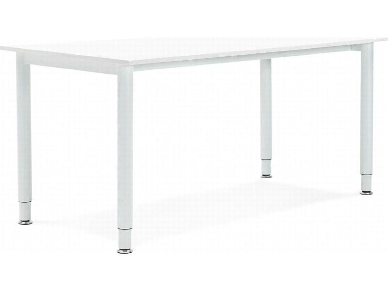 Bureau design bois blanc buro ot whwh vente de kokoon design