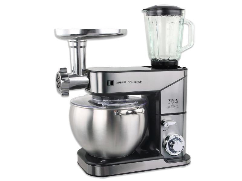Imperial collection im-km2500-3: robot de cuisine 3 en 1 - mélangeur, broyeur et batteur sur socle IM-KM2500-3