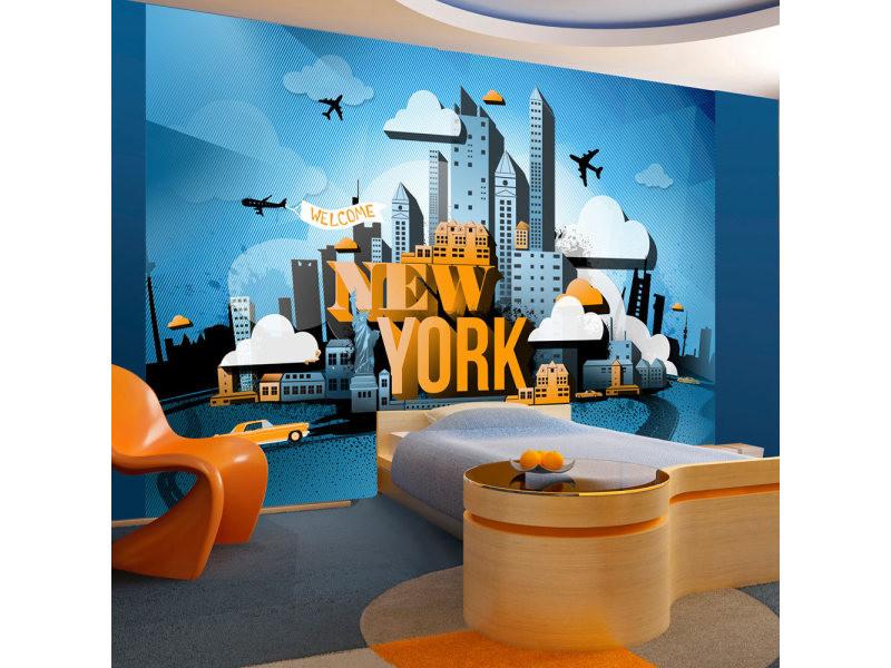Papier peint - new york - welcome 400x280