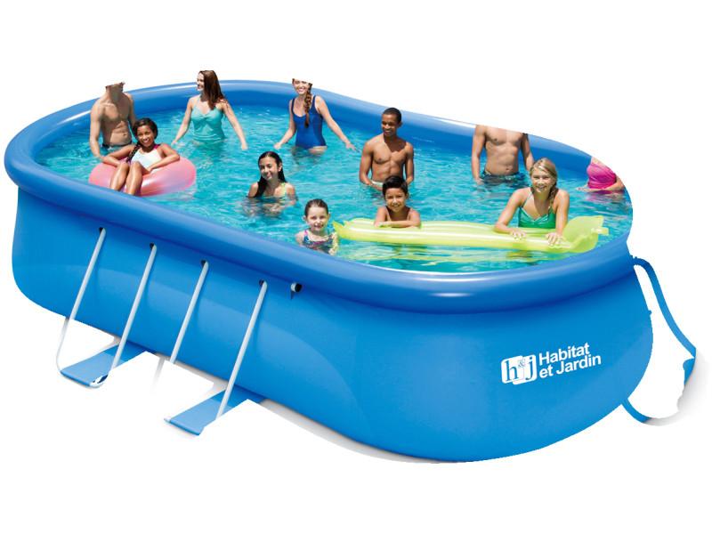piscine autoportante balo 3 x x m vente de habitat et jardin conforama. Black Bedroom Furniture Sets. Home Design Ideas