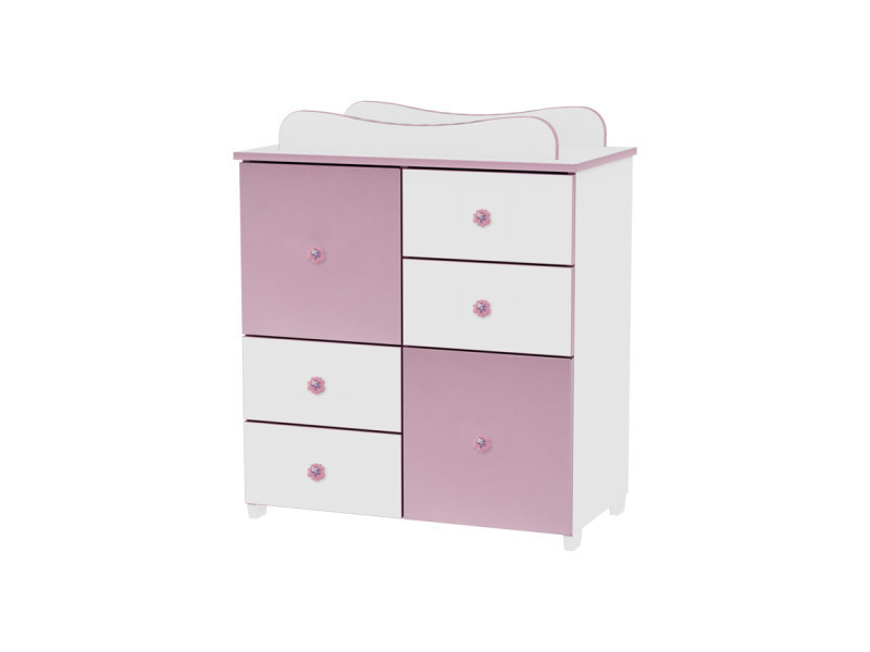 commode de langer pour chambre b b enfant vert 10170110023 vente de lorelli conforama. Black Bedroom Furniture Sets. Home Design Ideas