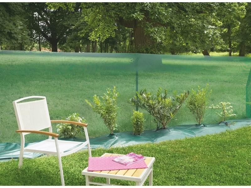 Intermas - brise vent 1,5 x 30 m vert windanet 170922