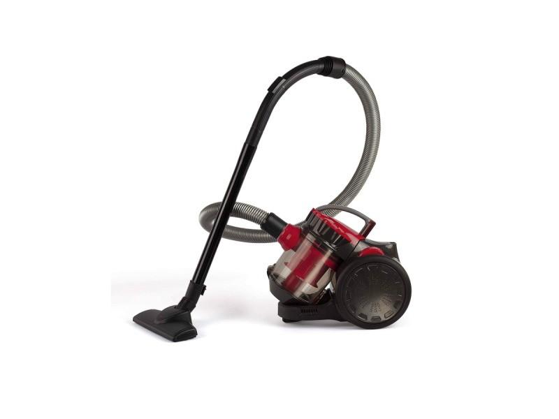 Aspirateur sans sac aada 78db noir/rouge - doh105r doh105r