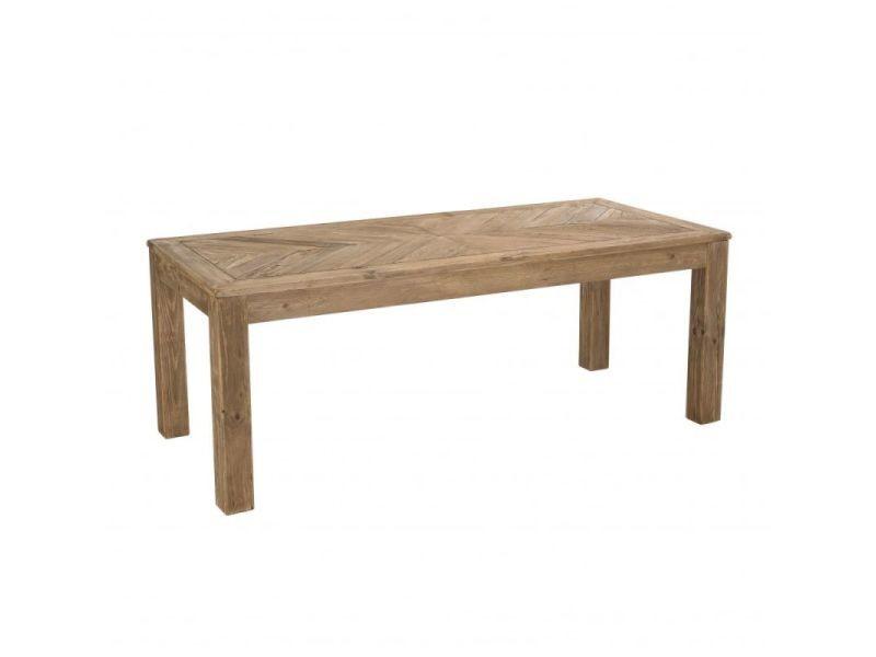Table de repas rectangulaire 200 cm - chalet