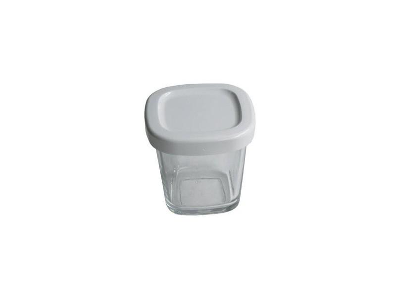 Pot + couvercle blanc livre par 1 reference : ss-193386