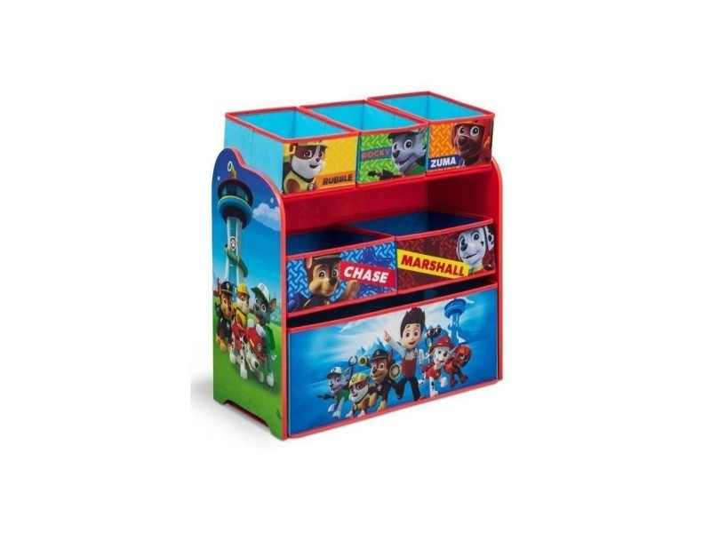 pat 39 patrouille meuble de rangement paw patrol vente de commode conforama. Black Bedroom Furniture Sets. Home Design Ideas