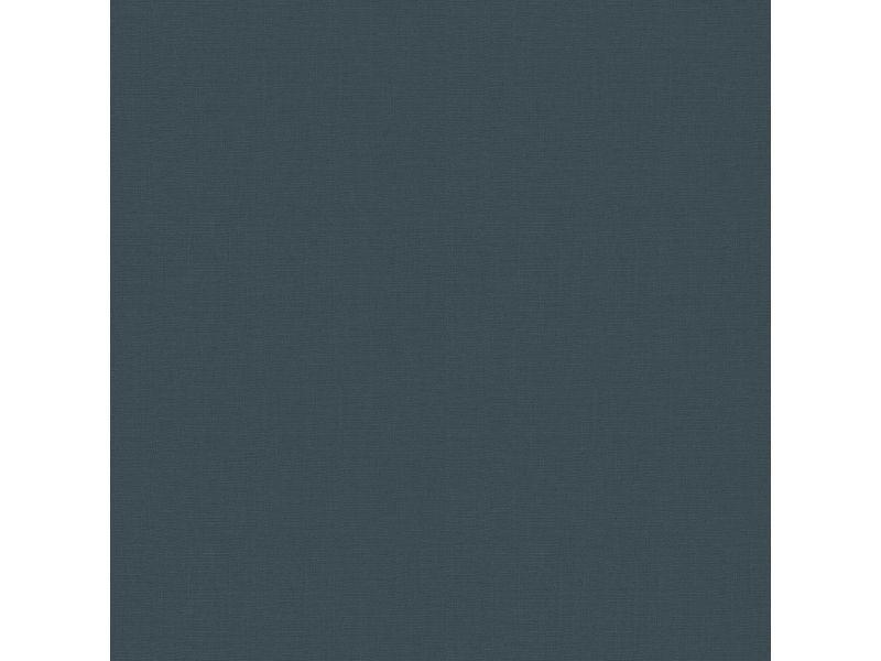 Papier peint intissé uni basic textile i 1005 x 52cm bleu 5673491
