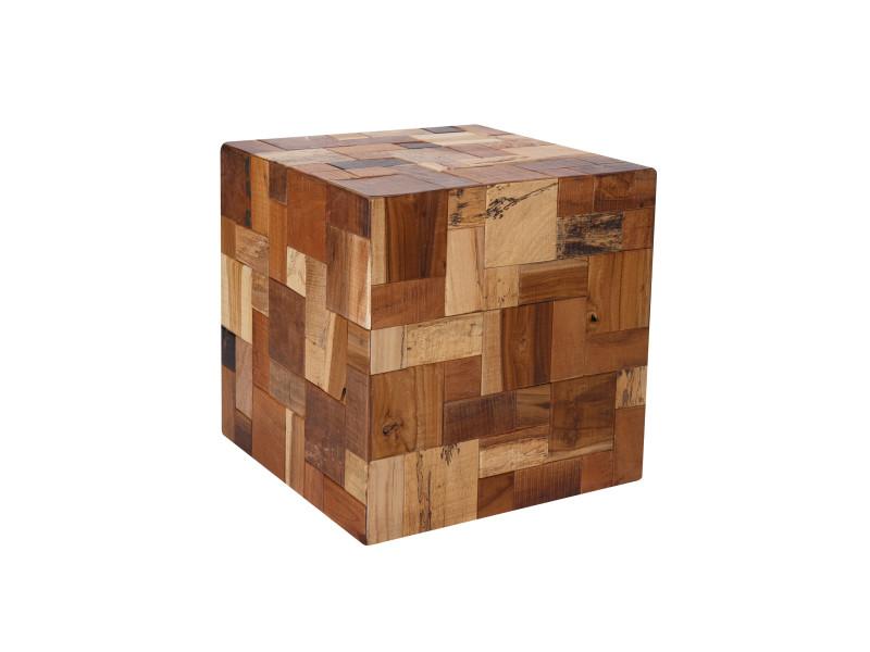 Table d'appoint carrée jacob en bois