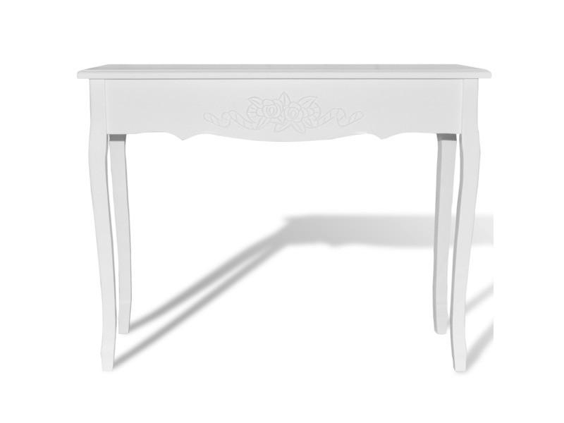 coiffeuse blanche meuble d 39 entr e helloshop26 1402007 vente de chiffonnier conforama. Black Bedroom Furniture Sets. Home Design Ideas