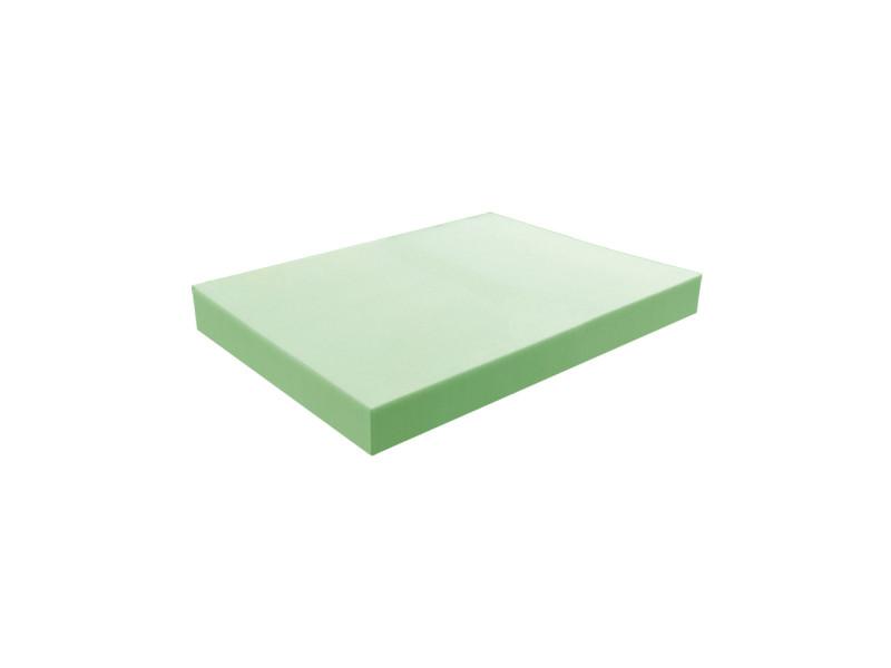 Matelas pour tous | plaque de mousse 35 kg/m³ ferme 100x120 cm | epaisseur 7 cm 3DE.PE.35F.7.1012