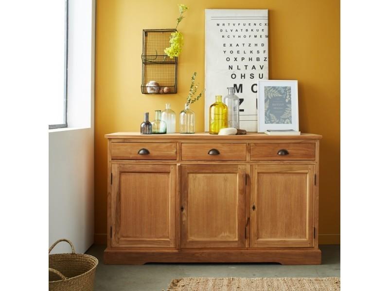 finest buffet en bois de teck boston vente de buffet de cuisine conforama with vaisselier. Black Bedroom Furniture Sets. Home Design Ideas