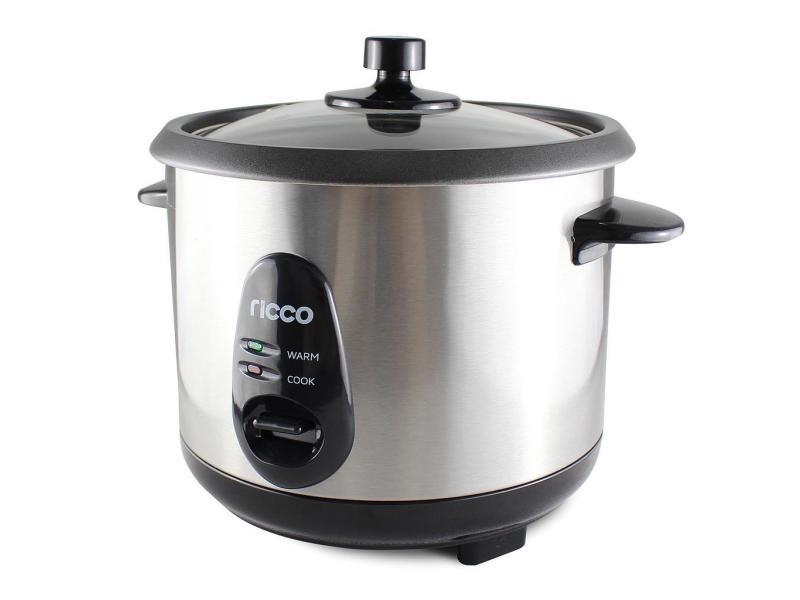 Cuiseur à riz, cuiseur de riz, 1 litre(s), matériau: couvercle en verre, alliage en aluminium 3700778721585