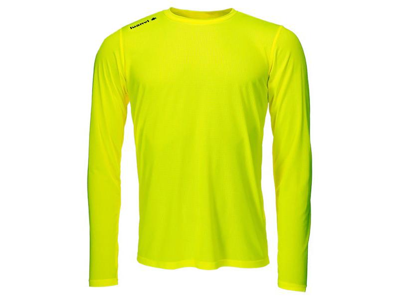 T-shirt de sport stylé taille 3xs t-shirt à manches longues luanvi nocaut gama jaune (5 unités)