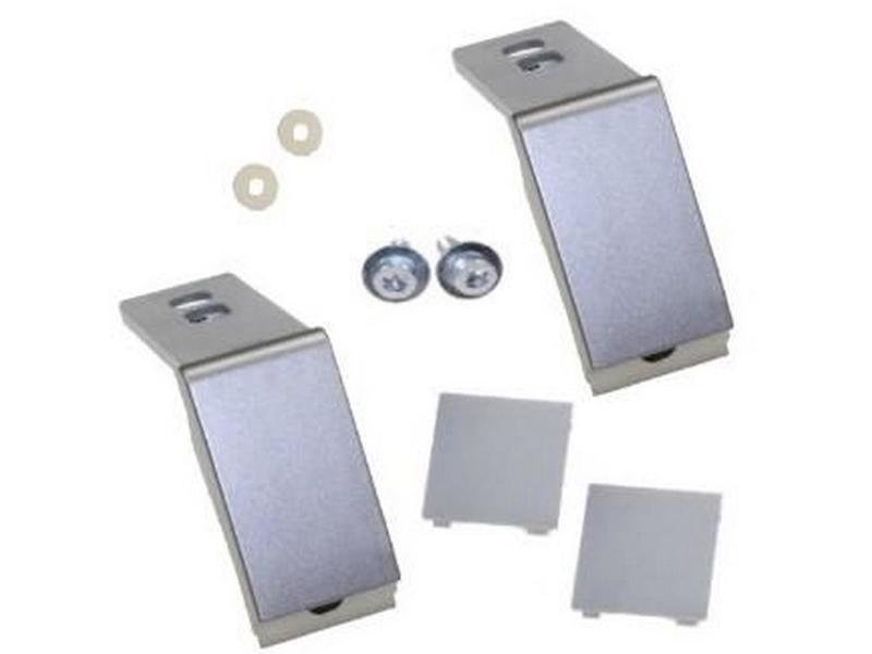 Kit de reparation fixation poignée inox 9590180 réfrigérateur, congélateur wpro 9590180