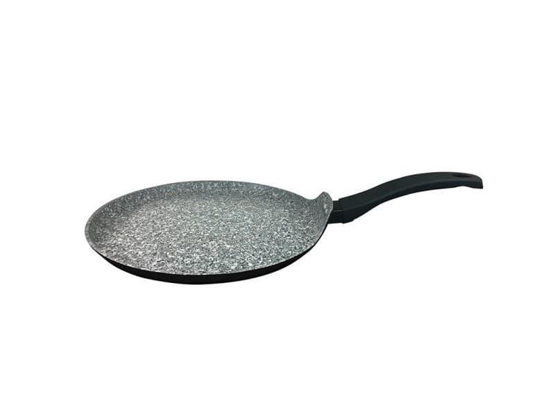 Crêpière en aluminium forge 28cm effet granite anti-adhésive crp28tfi