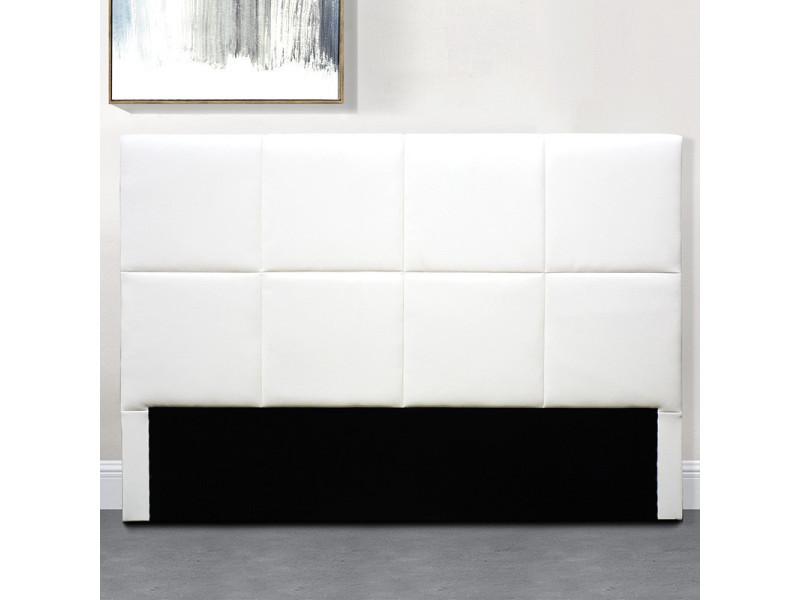 Tête de lit design alexi - blanc - 160 cm