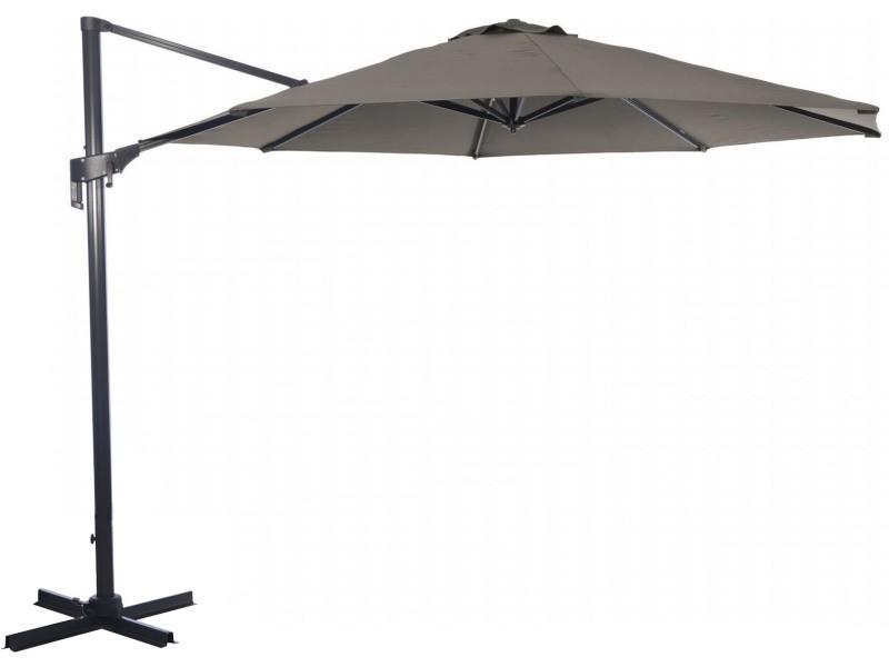 Parasol déporté en aluminium 350 cm vita