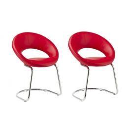 Chaise de cuisine rouge conforama - Chaise rouge conforama ...