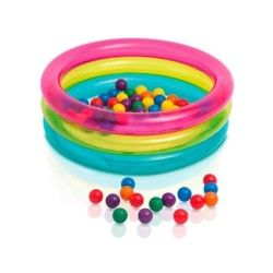 Aire de jeux gonflable intex 86 cm avec balles