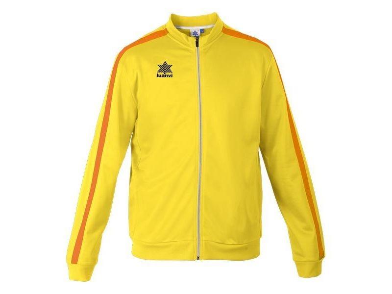 Vestes de sport stylé taille s veste de sport luanvi gama jaune acétate