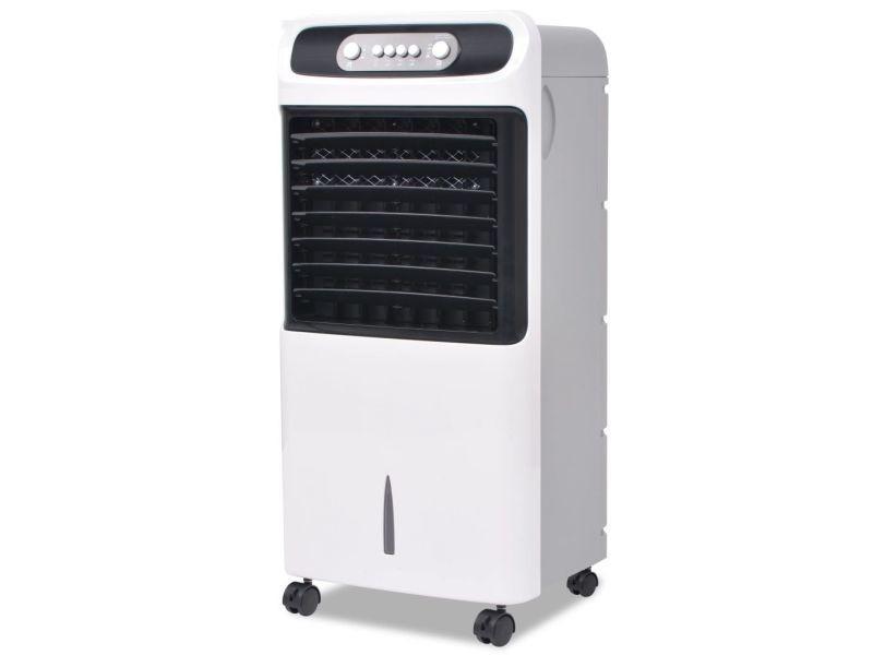 Vidaxl refroidisseur d'air mobile 80 w 12 l 496 m³ / h 50550