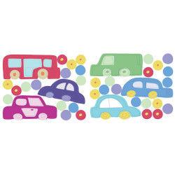 Stickers chambre bébé en voiture