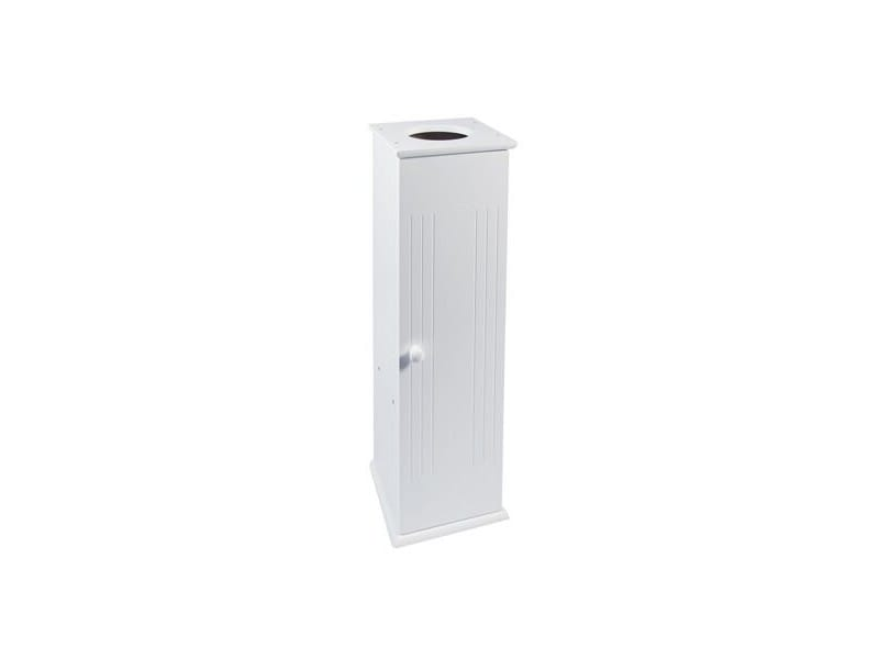 porte rouleau papier toilette wc armoire de rangement vente de wc et accessoires wc conforama. Black Bedroom Furniture Sets. Home Design Ideas