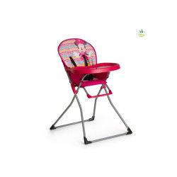 Chaise haute disney mac baby - minnie geo rose