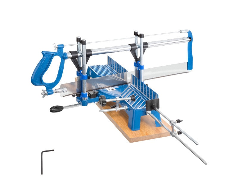Tectake scie à onglets manuelle lame 550 mm 402760