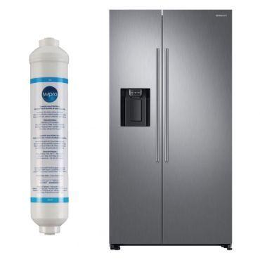 samsung r frigerateur frigo am ricain us 2 portes inox. Black Bedroom Furniture Sets. Home Design Ideas