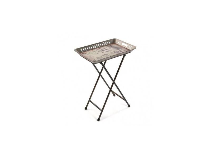 Table d'appoint plateau amovible padua