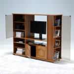 Meuble tv combi center / chêne