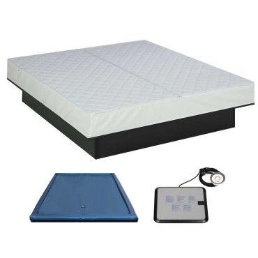 super matelas eau 140x200 cm sommier blanc vente de atlantis conforama. Black Bedroom Furniture Sets. Home Design Ideas