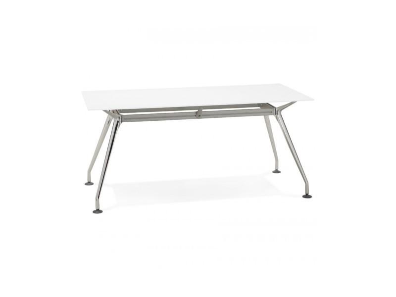 Bureau design krush 160 white 80x160x74 cm