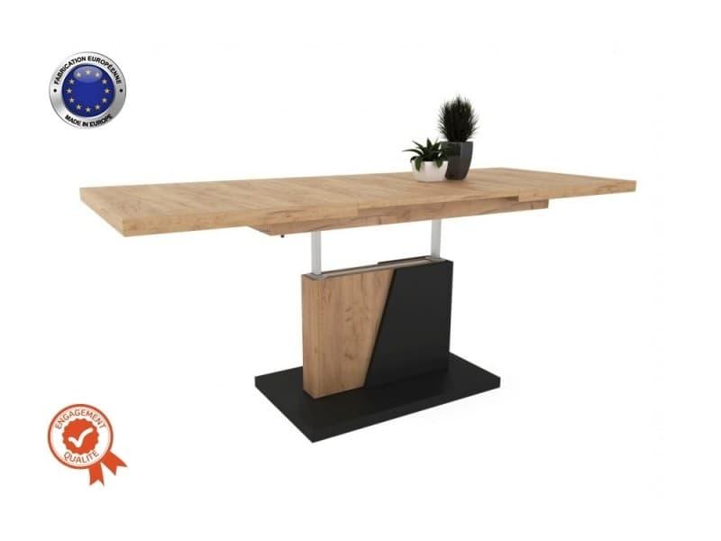Table basse chopin relevable et extensible bois