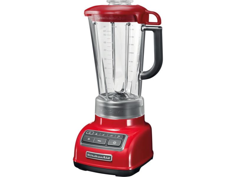 Blender mixeur électrique de 1,75l 550w rouge empire gris