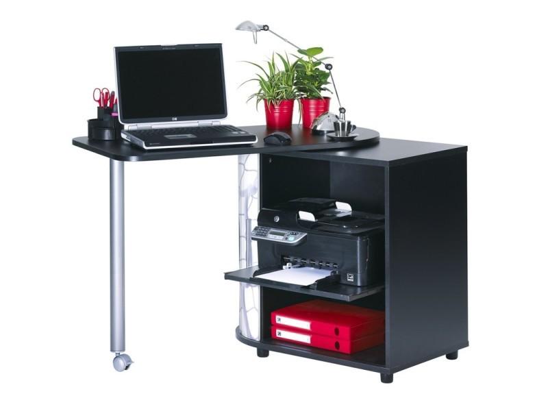bureau plateau pivotant et rangement rideau slide n 19 l 105 x l 55 x h 75 neuf vente. Black Bedroom Furniture Sets. Home Design Ideas