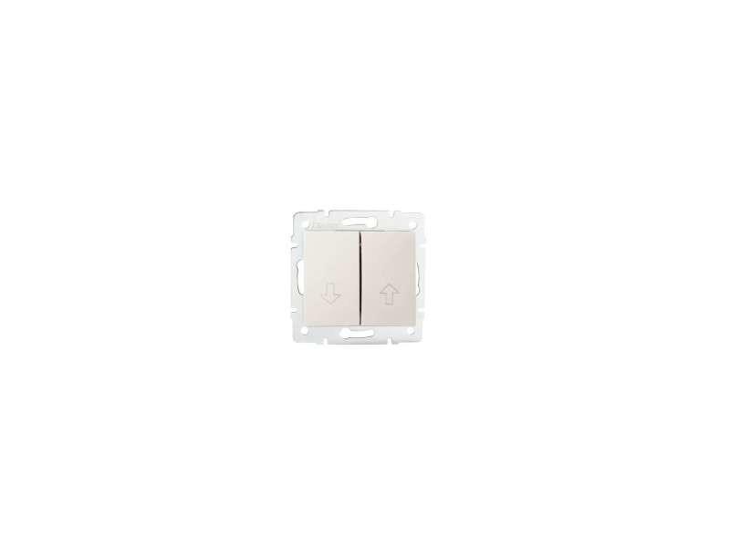 Bouton poussoir pour store logi crème KL-25158