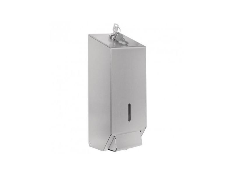Distributeur de savon liquide en inox - jantex - 100 cl