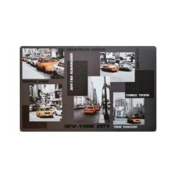 Set de table 28 x 44 cm transparent metropolis ny