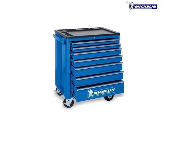 Michelin - servante 7 compartiments atelier pro garage - mtc 7