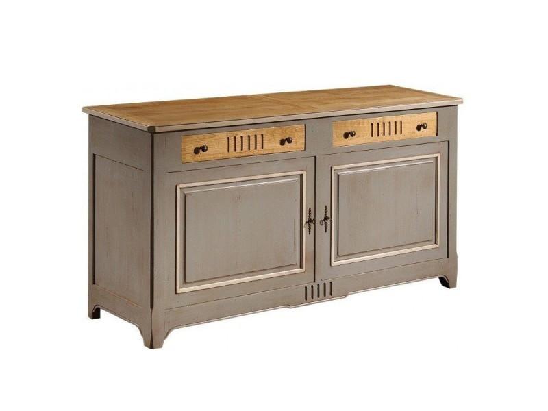 Elegant buffet portes tiroirs champigny l x l x h neuf for Meuble bureau sherbrooke