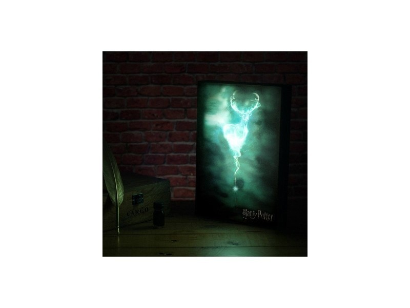 Harry Potter Veilleuse Luminart Patronus 30 Cm Pp3697hp Conforama